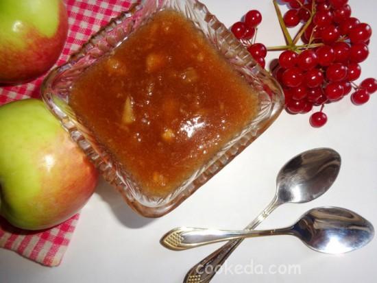 Яблочно-грушевое варенье с пряной корицей