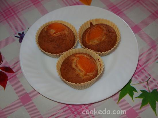 кексы c абрикосами-16