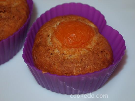кексы c абрикосами-17