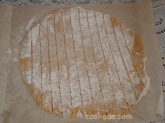 Торт медовое полено-09