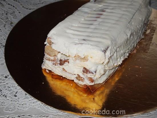 Торт медовое полено-21