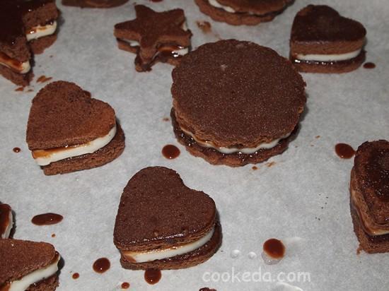 Бисквитные пирожные-26
