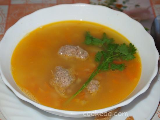 суп гороховый с фрикадельками--12