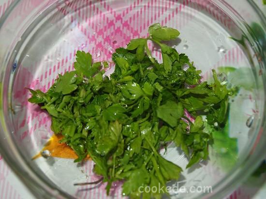 Суп в мультиварке из цветной капусты и кукурузы-10