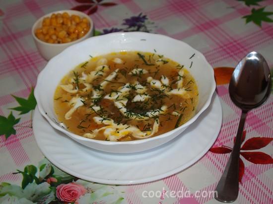 Суп в мультиварке из цветной капусты и кукурузы-18