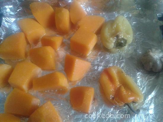 Суп-пюре из запеченных овощей-02