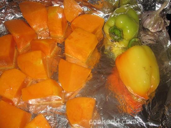 Суп-пюре из запеченных овощей-04