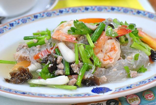Тайская кухня - креветки