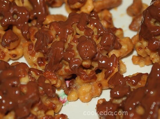 Пироженое муравейник-08
