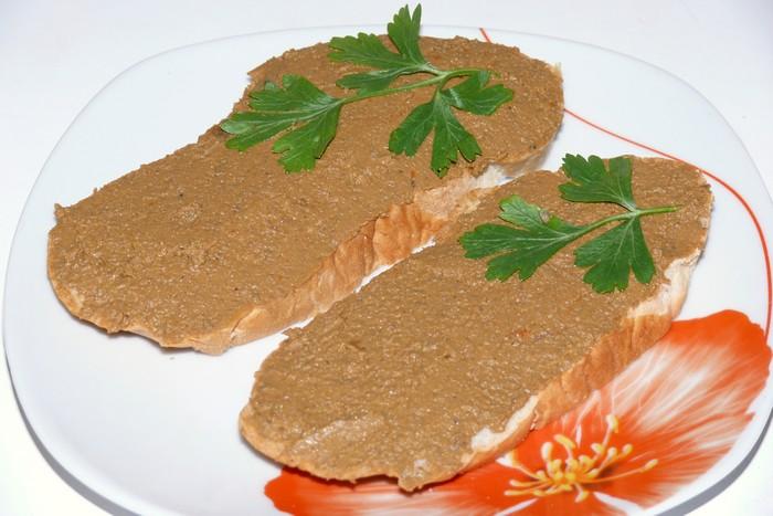 Печеночный паштет из говяжьей печени - готовим дома