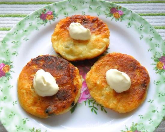 Сырники с творогом и картофелем