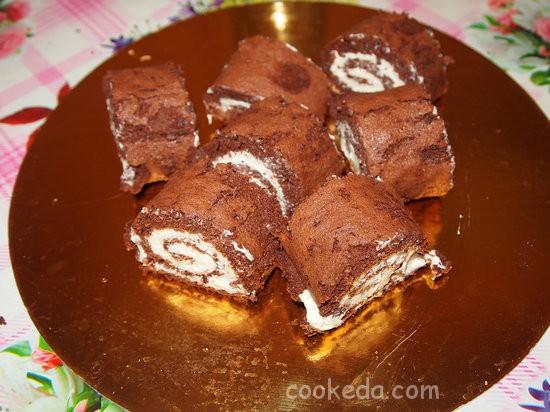 пирожные с кремом из маскарпоне-20