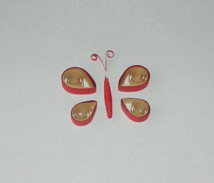 Открытка своими руками Бабочки-10