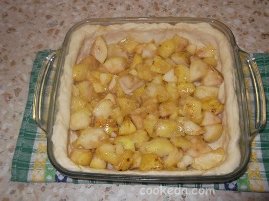 слоеный яблочный пирог-05