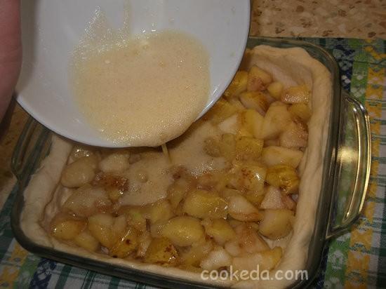 слоеный яблочный пирог-07