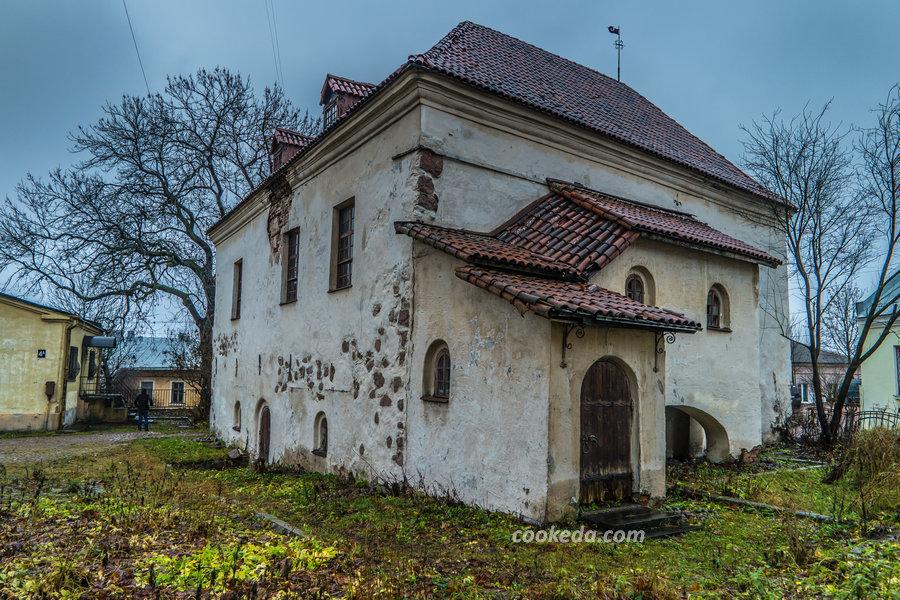 Поездка на выходные в Выборг: Старый дом в Выборге (XV век)
