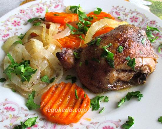 куриные бедра в шафрановом маринаде-18