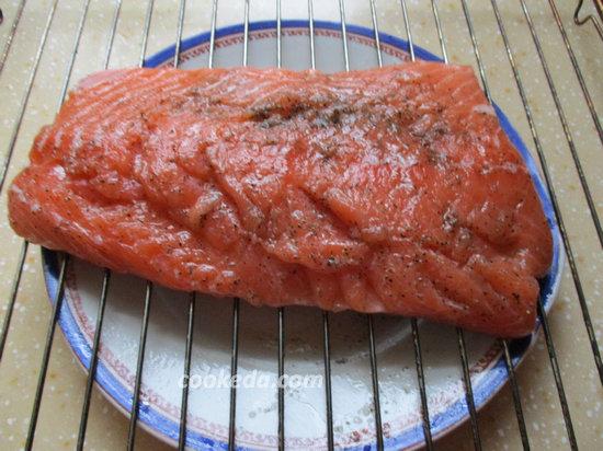 Филе лосося с рисом-12