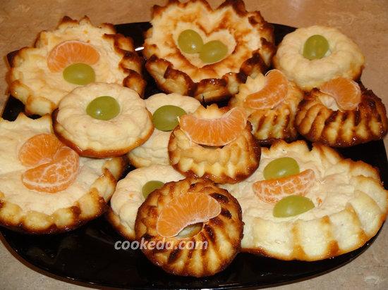 Творожно-мандариновый десерт-09