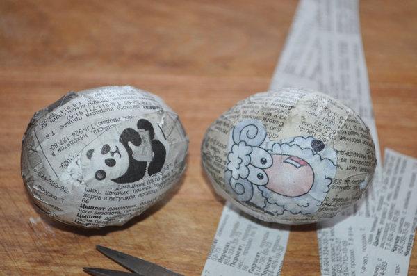 Пасхальные яйца в технике декупаж-08