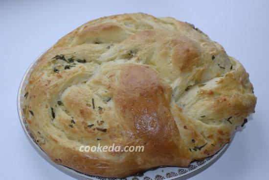 Белый хлеб с чесночным ароматом-18