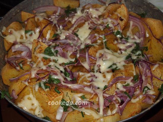 Запеченный в духовке картофель-08