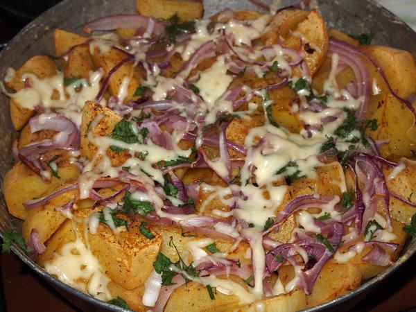 рецепт креветок в духовке с сыром