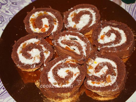 Бисквитный торт-24