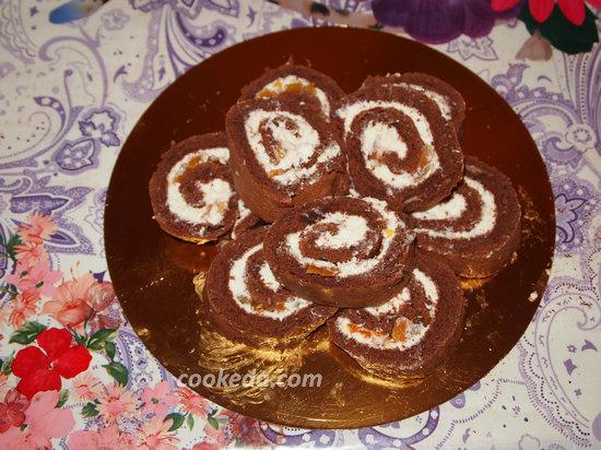 Бисквитный торт-25