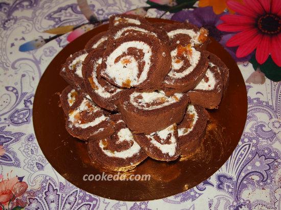 Бисквитный торт-26