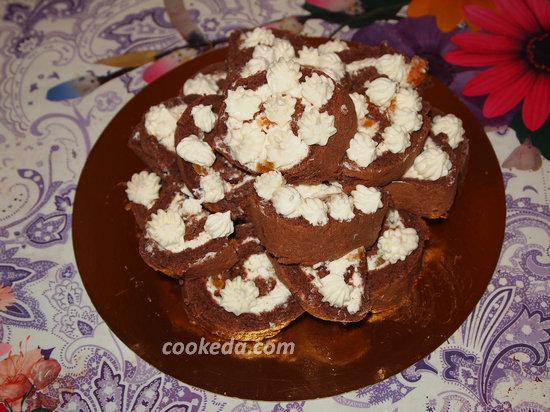 Бисквитный торт-27