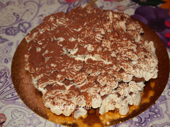 Бисквитный торт-29