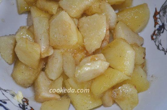 Пасхальный пирог из яблок-09