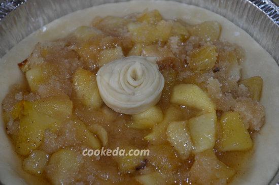 Пасхальный пирог из яблок12