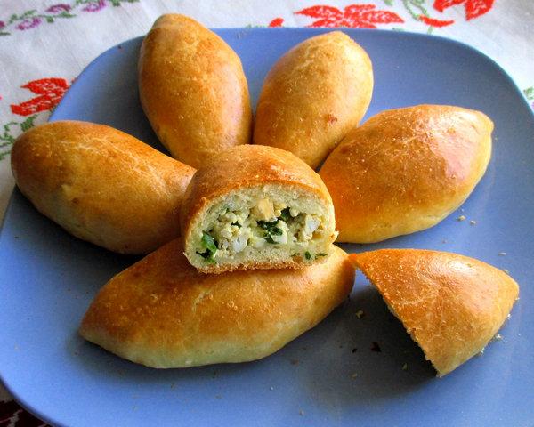 Рецепт жареных пирожков на кефире и дрожжах пошагово