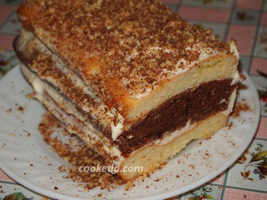 Торт сметанник-13