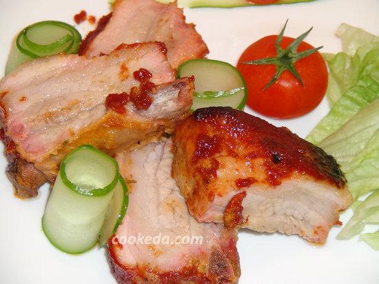 Запеченные свиные ребра-15
