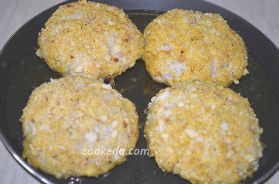 Котлеты из кальмаров рецепт с фото пошагово  1000menu