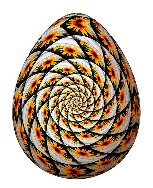 Пасхальное яйцо, скрапбукинг
