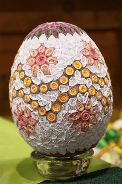 Пасхальное яйцо, аппликация