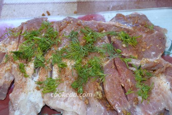 Мясной рулет из свинины-фото-07