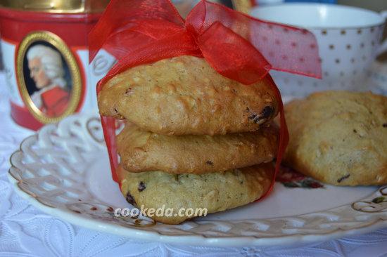 Печенье из овсяных хлопьев с шоколадом-09