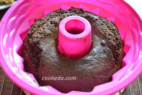 Шоколадный кекс-фото-10