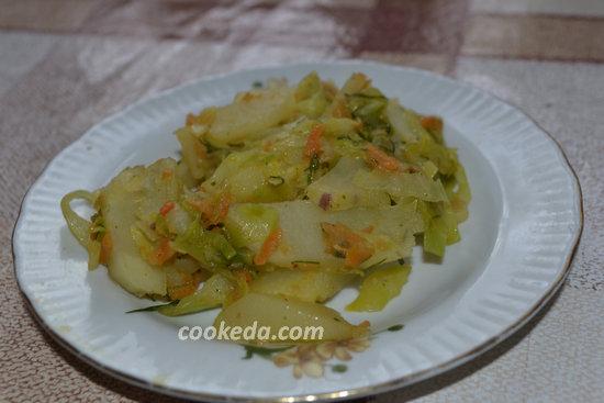 Солянка из свежей капусты-16