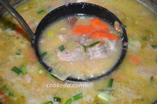 Гороховый суп с курицей-08