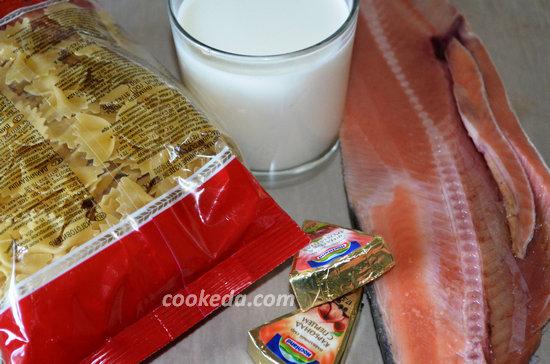 фарфалле с лососем в сырном соусе-02