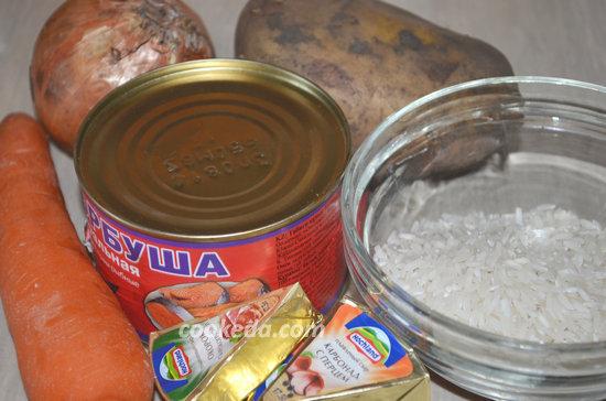 Суп из консервированной горбуши-02