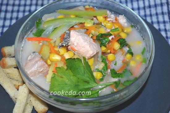 Суп из лосося-01