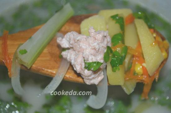 Суп из лосося-10