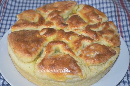 Пирог с капустой в духовке-01